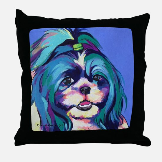 Cute Acrylics Throw Pillow