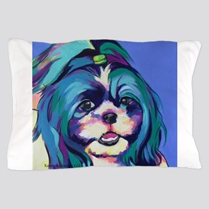 Herkey the Shih Tzu Dog Art Pillow Case