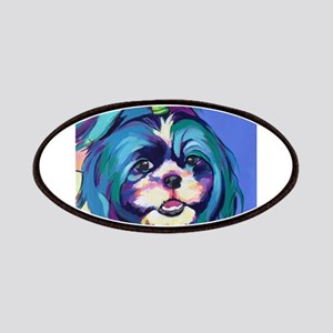 Herkey the Shih Tzu Dog Art Patch
