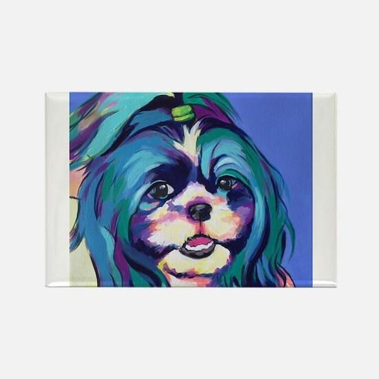 Herkey the Shih Tzu Dog Art Magnets
