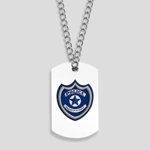Police Badge Dog Tags