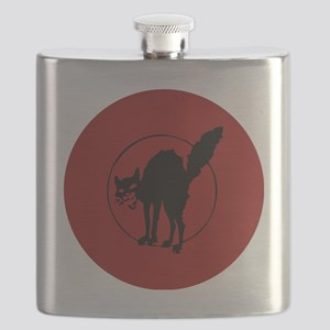 IWW Cat Logo Flask