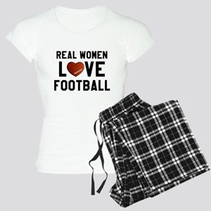 Real Women Love Football Women's Light Pajamas