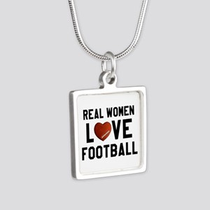 Real Women Love Football Necklaces