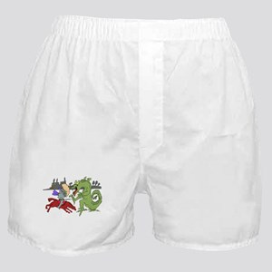 Fighting the Dragon Boxer Shorts