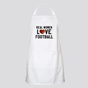 Real Women Love Football Apron