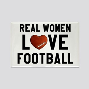 Real Women Love Football Magnets