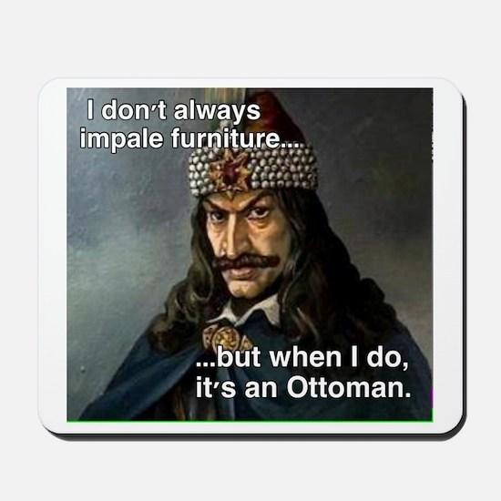 Impale Ottoman Mousepad