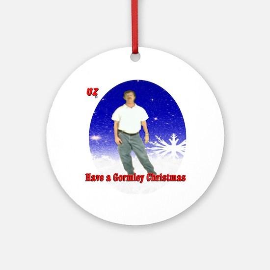 A Mark Gormley Christmas Round Ornament