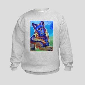 The Pop Art Shepherd Kids Sweatshirt