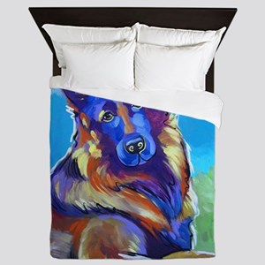 The Pop Art Shepherd Queen Duvet