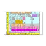Residuals Chart Rectangle Car Magnet