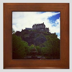 Edinburgh Castle Framed Tile