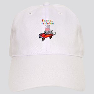 Fireman Hippo Fire Engine Cap
