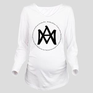Auspice Maria Long Sleeve Maternity T-Shirt