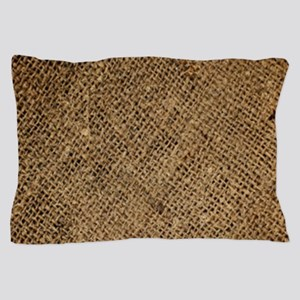 shabby chic country burlap Pillow Case