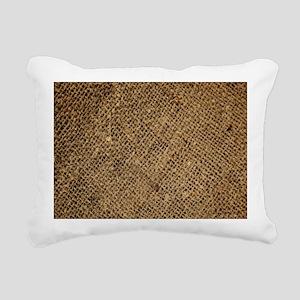 shabby chic country burl Rectangular Canvas Pillow