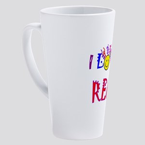 love to read drk 17 oz Latte Mug