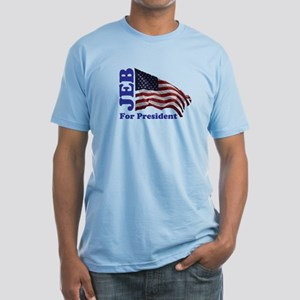 Jeb For President Fitted T-Shirt