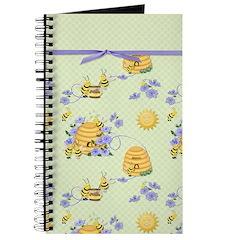 Bee Dance Floral Journal