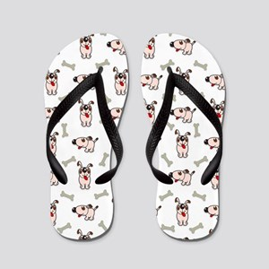 Puppies and Treats Flip Flops