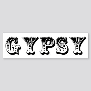 GYPSY Bumper Sticker