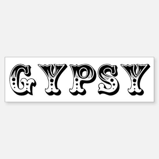 GYPSY Bumper Bumper Bumper Sticker