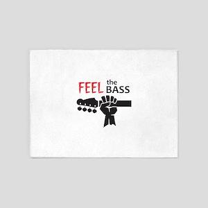 FEEL THE BASS 5'x7'Area Rug