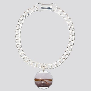 Swimming Down the Street Charm Bracelet, One Charm
