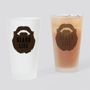 Beard Life Drinking Glass