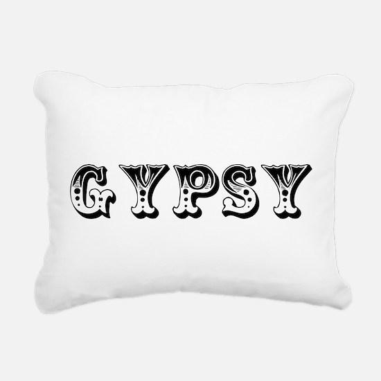 GYPSY Rectangular Canvas Pillow