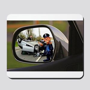 Rear-view Roll-Over Mousepad