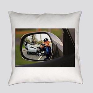 Rear-view Roll-Over Everyday Pillow