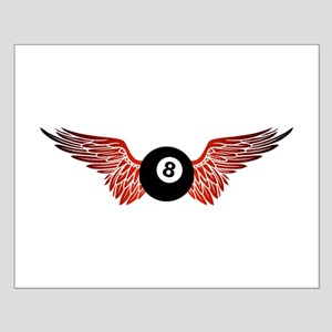 winged 8ball Posters