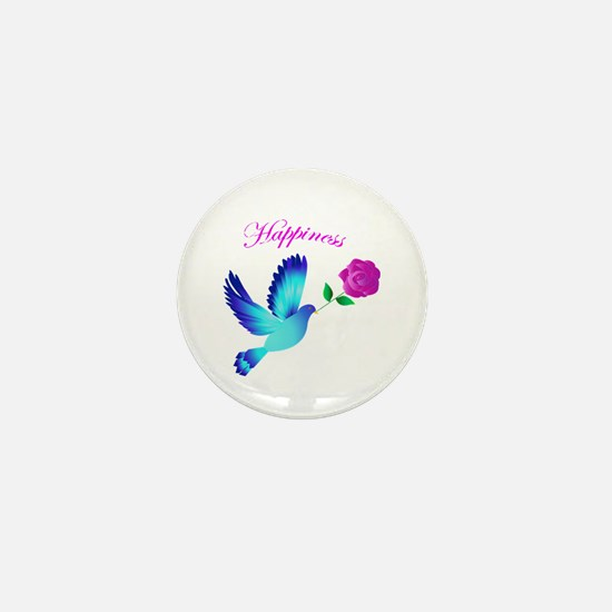 Bluebird Of Happiness Mini Button