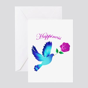 Bluebird of happiness greeting cards cafepress bluebird of happiness greeting card m4hsunfo Image collections