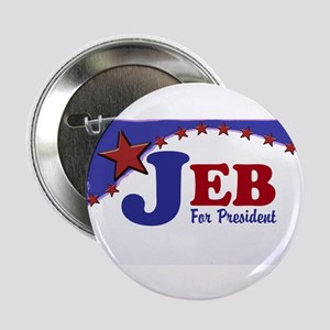 """Jeb For President 2.25"""" Button (10 Pack)"""