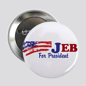 """Jeb For President 2.25"""" Button"""