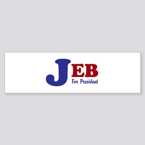 Jeb For President (bumper 10 Pk) Bumper Sticker
