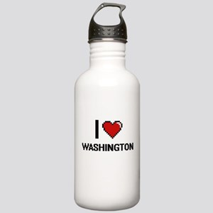 I love Washington Digi Stainless Water Bottle 1.0L