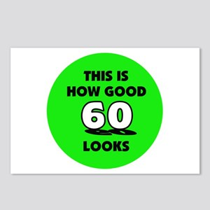 60th Birthday - Happy Birthda Postcards (Package o