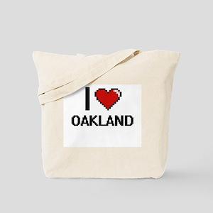 I love Oakland Digital Design Tote Bag