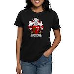 Acha Family Crest Women's Dark T-Shirt