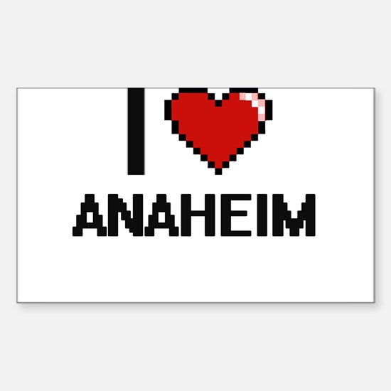 I love Anaheim Digital Design Decal