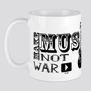 Make Music, Not War Mug