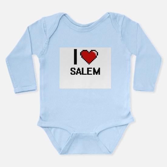 I love Salem Digital Design Body Suit
