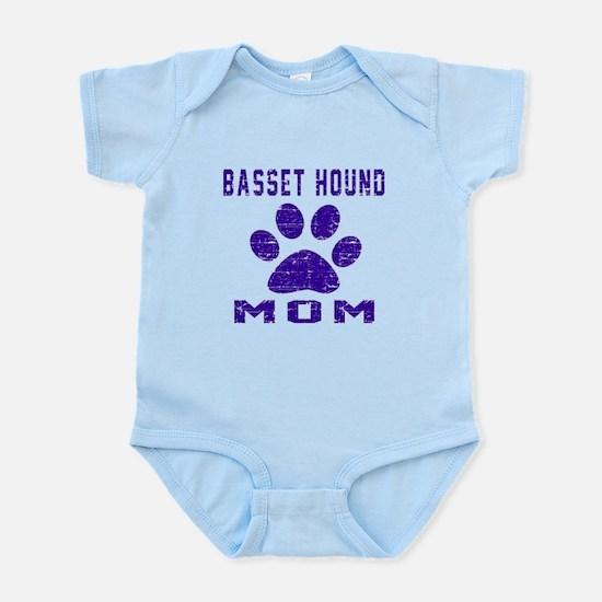 Basset Hound mom designs Infant Bodysuit