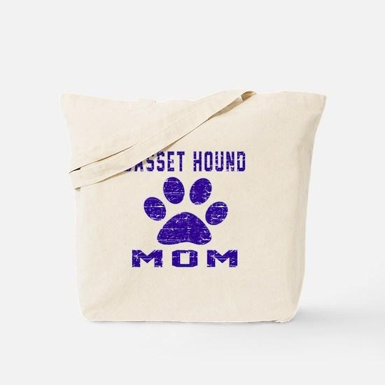 Basset Hound mom designs Tote Bag