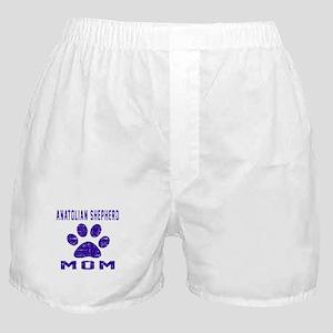 Anatolian Shepherd dog mom designs Boxer Shorts