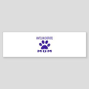 Anatolian Shepherd dog mom design Sticker (Bumper)